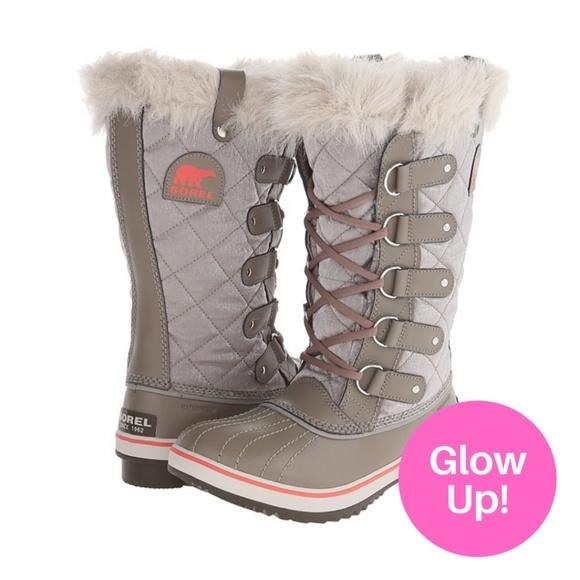 Glow Up - Sorel Tofino Cat Boot Grey Size 8